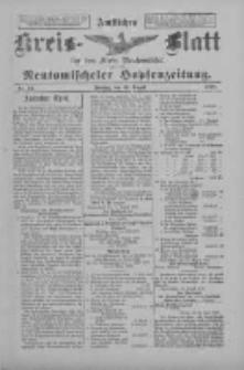 Amtliches Kreis-Blatt für den Kreis Neutomischel: zugleich Neutomischeler Hopfenzeitung 1898.08.19 Nr64