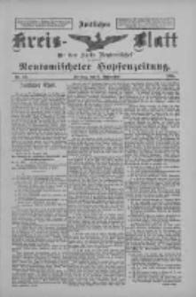 Amtliches Kreis-Blatt für den Kreis Neutomischel: zugleich Neutomischeler Hopfenzeitung 1898.09.06 Nr69