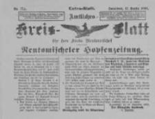 Amtliches Kreis-Blatt für den Kreis Neutomischel: zugleich Neutomischeler Hopfenzeitung 1898.09.17 Nr72a