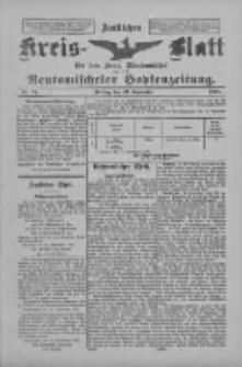 Amtliches Kreis-Blatt für den Kreis Neutomischel: zugleich Neutomischeler Hopfenzeitung 1898.09.23 Nr74