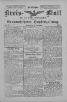Amtliches Kreis-Blatt für den Kreis Neutomischel: zugleich Neutomischeler Hopfenzeitung 1898.09.27 Nr75