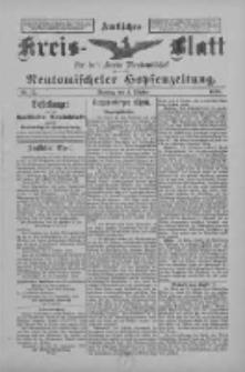 Amtliches Kreis-Blatt für den Kreis Neutomischel: zugleich Neutomischeler Hopfenzeitung 1898.10.04 Nr77