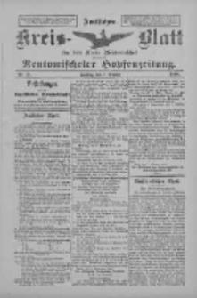 Amtliches Kreis-Blatt für den Kreis Neutomischel: zugleich Neutomischeler Hopfenzeitung 1898.10.07 Nr78