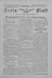 Amtliches Kreis-Blatt für den Kreis Neutomischel: zugleich Neutomischeler Hopfenzeitung 1898.10.14 Nr80