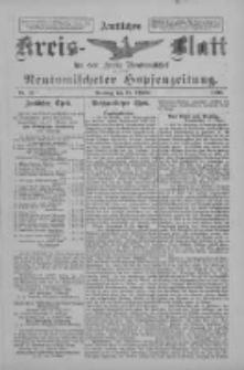 Amtliches Kreis-Blatt für den Kreis Neutomischel: zugleich Neutomischeler Hopfenzeitung 1898.10.18 Nr81
