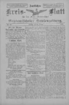Amtliches Kreis-Blatt für den Kreis Neutomischel: zugleich Neutomischeler Hopfenzeitung 1898.10.21 Nr82