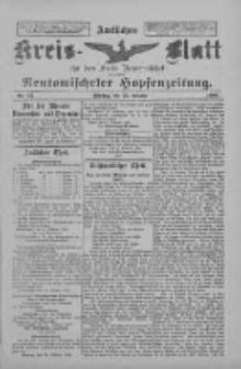 Amtliches Kreis-Blatt für den Kreis Neutomischel: zugleich Neutomischeler Hopfenzeitung 1898.10.25 Nr83