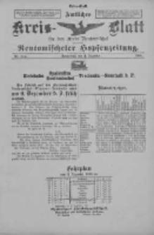 Amtliches Kreis-Blatt für den Kreis Neutomischel: zugleich Neutomischeler Hopfenzeitung 1898.12.03 Nr94a