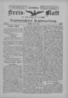 Amtliches Kreis-Blatt für den Kreis Neutomischel: zugleich Neutomischeler Hopfenzeitung 1899.06.06 Nr43