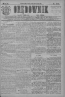 Orędownik: najstarsze ludowe pismo narodowe i katolickie w Wielkopolsce 1910.10.25 R.40 Nr245