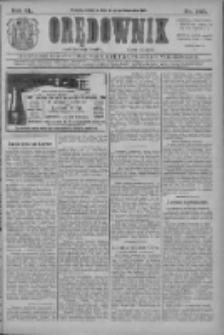 Orędownik: najstarsze ludowe pismo narodowe i katolickie w Wielkopolsce 1910.10.27 R.40 Nr247
