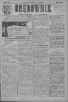 Orędownik: najstarsze ludowe pismo narodowe i katolickie w Wielkopolsce 1910.11.03 R.40 Nr252