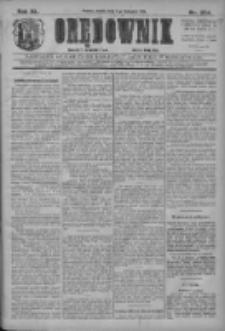 Orędownik: najstarsze ludowe pismo narodowe i katolickie w Wielkopolsce 1910.11.05 R.40 Nr254