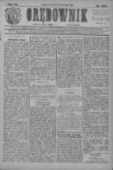 Orędownik: najstarsze ludowe pismo narodowe i katolickie w Wielkopolsce 1910.11.09 R.40 Nr257