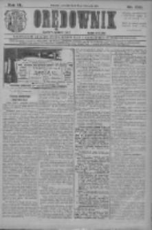 Orędownik: najstarsze ludowe pismo narodowe i katolickie w Wielkopolsce 1910.11.10 R.40 Nr258