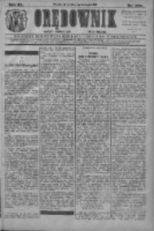 Orędownik: najstarsze ludowe pismo narodowe i katolickie w Wielkopolsce 1910.11.11 R.40 Nr259