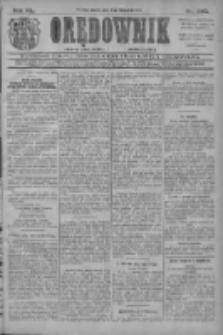 Orędownik: najstarsze ludowe pismo narodowe i katolickie w Wielkopolsce 1910.11.12 R.40 Nr260