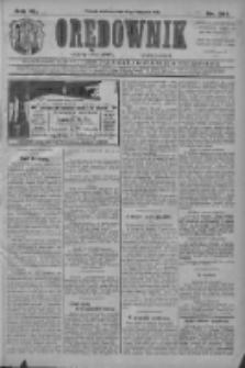 Orędownik: najstarsze ludowe pismo narodowe i katolickie w Wielkopolsce 1910.11.13 R.40 Nr261