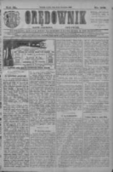 Orędownik: najstarsze ludowe pismo narodowe i katolickie w Wielkopolsce 1910.11.16 R.40 Nr263