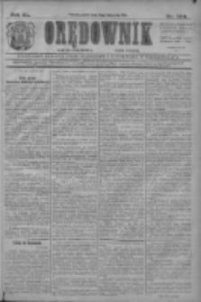 Orędownik: najstarsze ludowe pismo narodowe i katolickie w Wielkopolsce 1910.11.18 R.40 Nr264