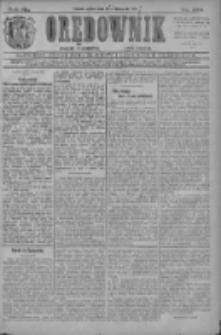Orędownik: najstarsze ludowe pismo narodowe i katolickie w Wielkopolsce 1910.11.19 R.40 Nr265