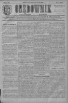 Orędownik: najstarsze ludowe pismo narodowe i katolickie w Wielkopolsce 1910.11.22 R.40 Nr267