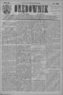 Orędownik: najstarsze ludowe pismo narodowe i katolickie w Wielkopolsce 1910.11.23 R.40 Nr268