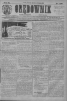 Orędownik: najstarsze ludowe pismo narodowe i katolickie w Wielkopolsce 1910.11.24 R.40 Nr269