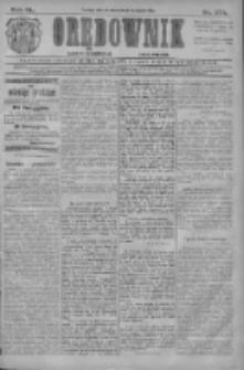 Orędownik: najstarsze ludowe pismo narodowe i katolickie w Wielkopolsce 1910.11.29 R.40 Nr273