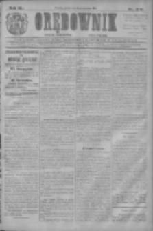 Orędownik: najstarsze ludowe pismo narodowe i katolickie w Wielkopolsce 1910.12.02 R.40 Nr276