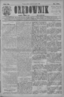 Orędownik: najstarsze ludowe pismo narodowe i katolickie w Wielkopolsce 1910.12.03 R.40 Nr277