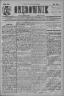 Orędownik: najstarsze ludowe pismo narodowe i katolickie w Wielkopolsce 1910.12.07 R.40 Nr280