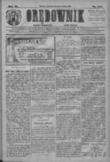 Orędownik: najstarsze ludowe pismo narodowe i katolickie w Wielkopolsce 1910.12.08 R.40 Nr281