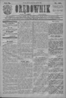 Orędownik: najstarsze ludowe pismo narodowe i katolickie w Wielkopolsce 1910.12.13 R.40 Nr284