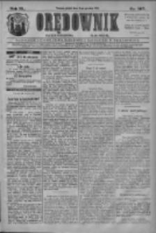 Orędownik: najstarsze ludowe pismo narodowe i katolickie w Wielkopolsce 1910.12.16 R.40 Nr287