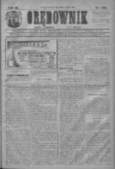 Orędownik: najstarsze ludowe pismo narodowe i katolickie w Wielkopolsce 1910.12.22 R.40 Nr292