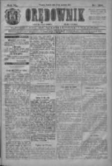 Orędownik: najstarsze ludowe pismo narodowe i katolickie w Wielkopolsce 1910.12.24 R.40 Nr294