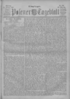 Posener Tageblatt 1901.02.18 Jg.40 Nr82