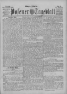 Posener Tageblatt 1895.01.11 Jg.34 Nr17
