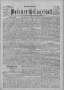 Posener Tageblatt 1895.01.15 Jg.34 Nr23