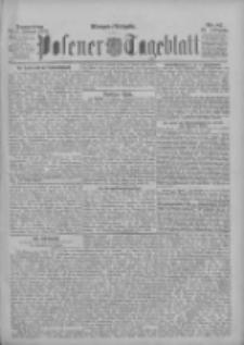 Posener Tageblatt 1895.02.21 Jg.34 Nr87