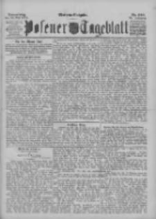 Posener Tageblatt 1895.05.30 Jg.34 Nr249