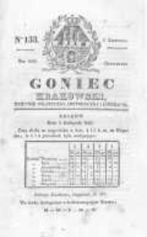 Goniec Krakowski: dziennik polityczny, historyczny i literacki. 1829.11.05 nr133