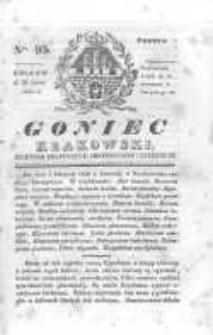 Goniec Krakowski: dziennik polityczny, historyczny i literacki. 1830.07.31 nr95