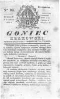 Goniec Krakowski: dziennik polityczny, historyczny i literacki. 1830.08.02 nr96
