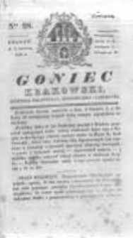 Goniec Krakowski: dziennik polityczny, historyczny i literacki. 1830.08.05 nr98