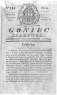 Goniec Krakowski: dziennik polityczny, historyczny i literacki. 1830.09.08 nr117