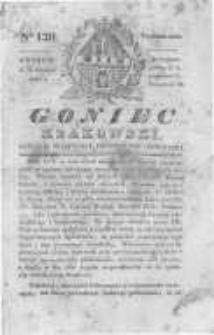 Goniec Krakowski: dziennik polityczny, historyczny i literacki. 1830.09.13 nr120