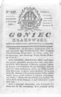 Goniec Krakowski: dziennik polityczny, historyczny i literacki. 1830.09.25 nr127