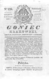 Goniec Krakowski: dziennik polityczny, historyczny i literacki. 1830.09.27 nr128